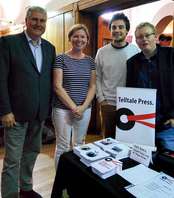 Me, Robin Houghton, Siegfried Baber, Sarah Barnsley